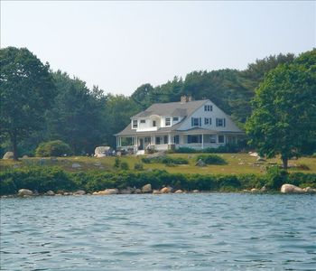 View of house from the water