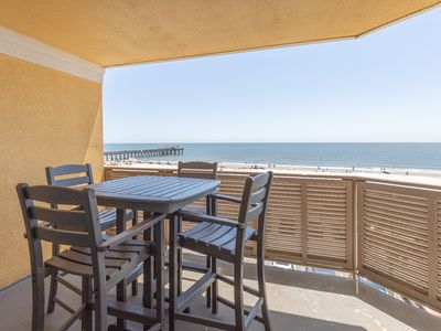 Photo for Oceanfront Top-floor Condo with Amazing Views, Steps Away from Beach and Tybee Pier
