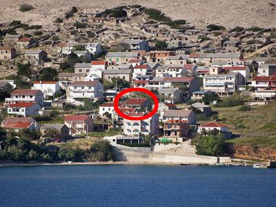 Photo for Apartment in Zubovići (Pag), capacity 2+1