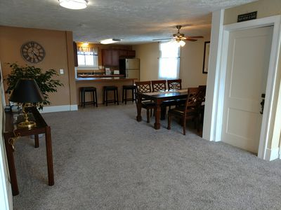 Wide Open Floor Plan, beautiful dining space and a huge full kitchen
