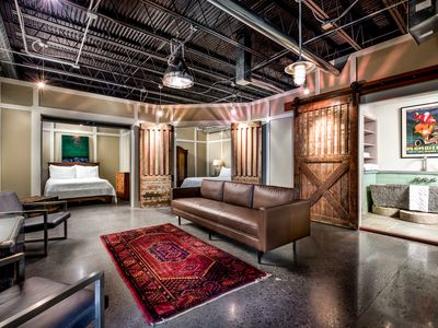 Photo for THE GARDEN VAULT - Culture-Filled Downtown Loft-Style Property, A Must See!
