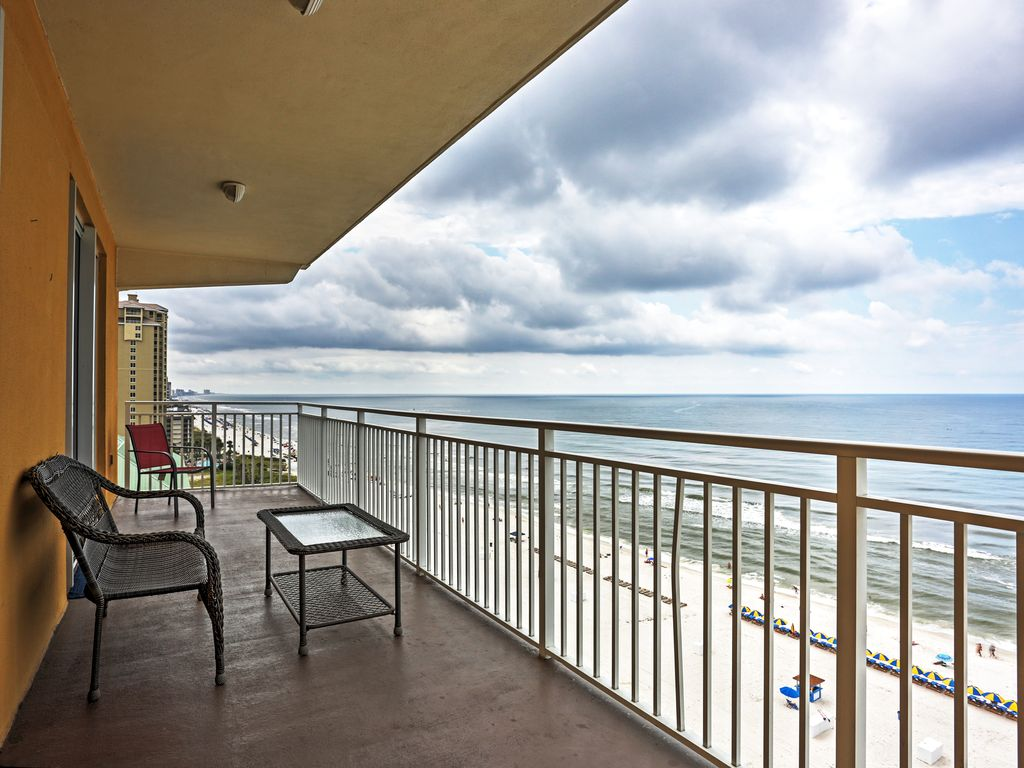 New 3br Gulf Front Panama City Beach Condo Panama City Beach Florida Panhandle Florida