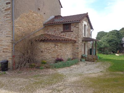 Photo for 1BR Apartment Vacation Rental in Miallet, Nouvelle-Aquitaine