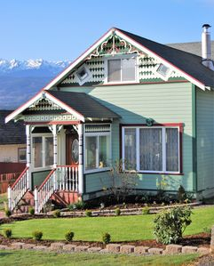 Photo for PERFECT FOR FAMILIES! DAZZLING WATER & MT VIEWS!  HOT TUB!  NEAR OLYMPIC PARK!
