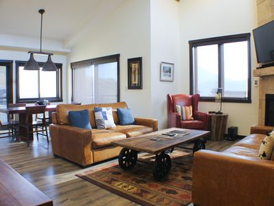 Photo for NEW! Penthouse Views, Private 1-car garage, Top-of-the-line and at the Base Area