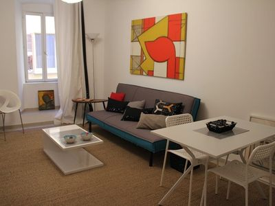 Photo for AJACCIO - Very nice luxury apartment in the city center F2-253