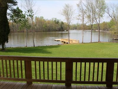2 BR House with Lake Frontage, Floating Dock, and Boat Launch