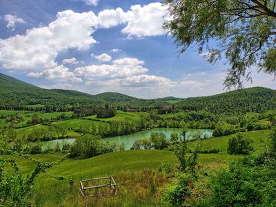 Photo for Villa Banditaccia - Country Villa Rental in Orcia Valley