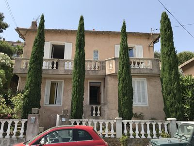 Photo for Villa overlooking port and bay of Toulon