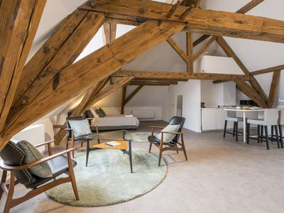 Photo for NEW: Exclusive private loft in the heart of Bruges