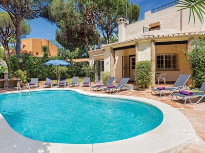 Photo for Traditional yet modern villa with a pool, table tennis and pool table, close to the beach and other attractions
