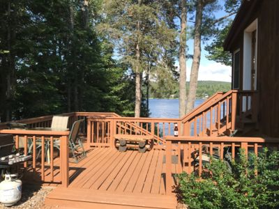 Lakefront Home...Snowmobiling Right From Your Front Door!