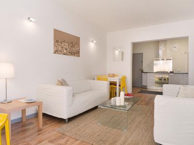 Photo for Centre Tranquilo apartment in Sitges with WiFi & balcony.