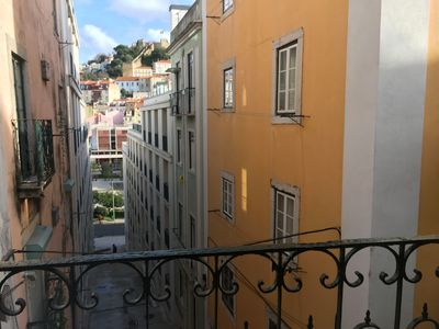 Photo for Cozy Castle view studio in the heart of old Lisbon center