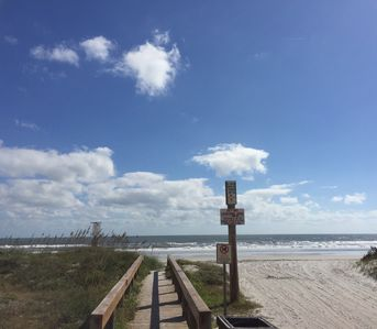 Photo for Steps from the beach w/incredible views!  Family/pet friendly!