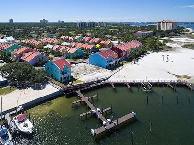 Perdido Key - A marina and beach are privately accessed by guests