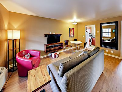 Photo for Fall Savings! Landmark McMillin Court Apartment #1 – Barbeque Lovers Rejoice!