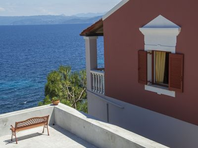 Photo for Villa  ,birds eye view, access to a small secluded beach