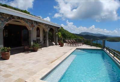 '12' x 26' Pool with Deck' - Coral Bay Vacation House near Snorkeling and Fishin