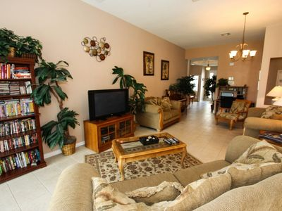 Photo for New Furniture and Appliances!  Book this Windsor Hills Themed Pool Home Now, New Community Pool.
