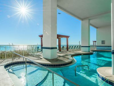 Photo for Stay on the Beach! Recently updated well-appointed unit 8th floor 5 pools+more