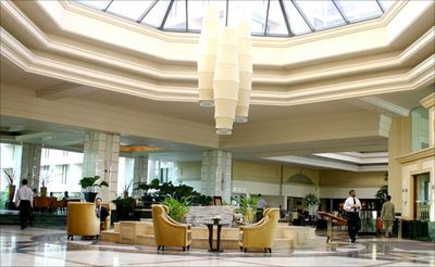 Direct Access to 5 * Cinnamon Grand Hotel Lobby