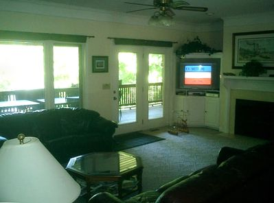 Main Level Family Room with DVR!