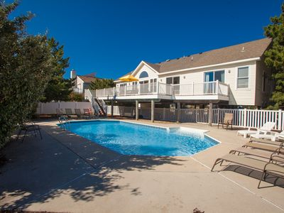 Photo for Traditional 6 bedroom home w/ private pool & easy beach access