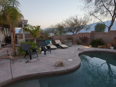 Photo for Entertainment House w/ Spectacular Mountain & Sunset Views, Private Pool & Spa