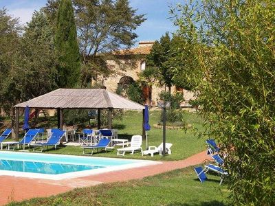 Photo for Cozy Holiday Home in Peccioli with Swimming Pool