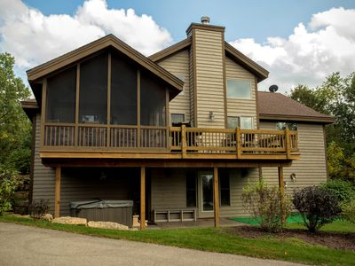 Photo for 4 + 5 Bdr Next Door - Large Group Gathering - Sleeps 22 With Hot Tubs