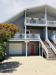 "Photo for OCEAN VIEWS & 3 MIN. WALK TO BEACH in this ""cute as a button"" Holden Beach gem!"