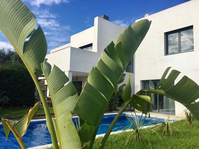 Photo for high end villa with big pool, lots of privacy, modern furniture and appliances