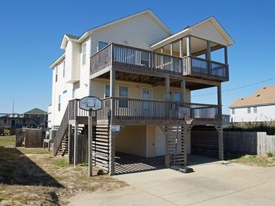 Photo for EXCELLENT! 4 BRs, Private Pool, Hot Tub, Direct Beach Access, Pool Table