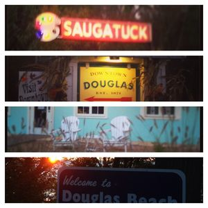 In the heart of it all, downtown Douglas.