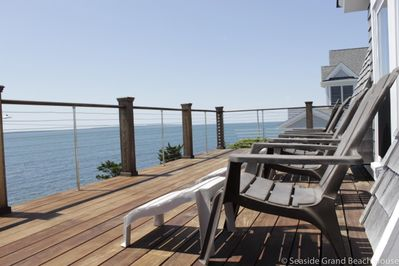 Take in views of Martha's Vineyard from the comfort of the 2nd floor deck