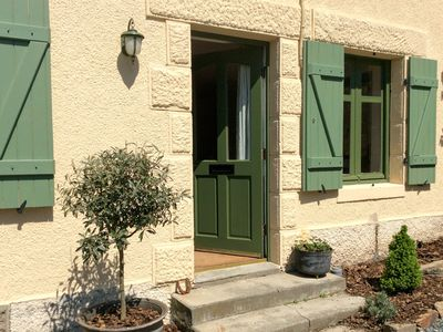 Photo for Charming country cottage in the heart of rural France