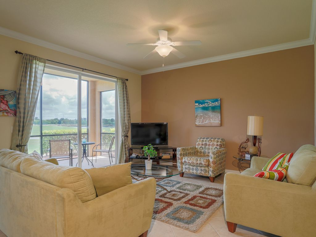 Beautiful First Floor River Strand Condominium with Lanai and Golf Course Views: River Strand 37