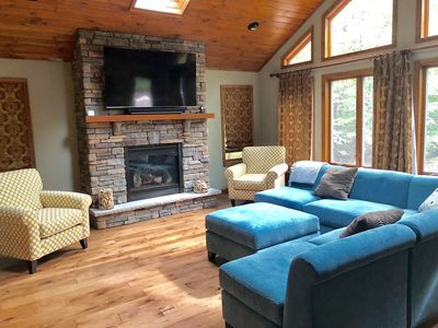 Photo for Lake Naomi Amazing 2,800 sf 3-BR Vacation Hideaway