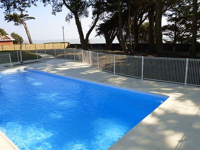Photo for 2 bedroom Apartment, sleeps 4 in Pornic with Pool and WiFi