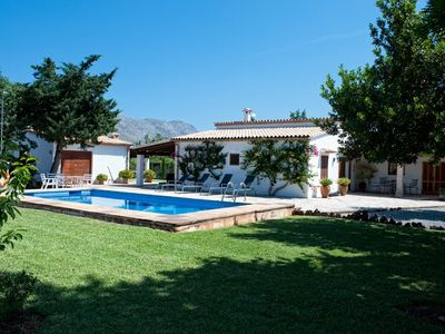 Photo for 3 bedroom Villa, sleeps 5 in Pollença with Pool, Air Con and WiFi