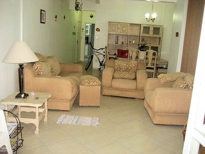 Photo for Great Apt three bedrooms, two suites, terrace facing the sea. Panoramic View