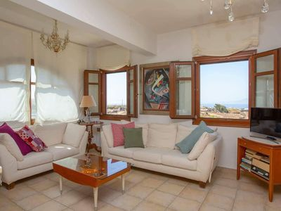 Photo for villa with panoramic view, family and pet friendly, near the beaches.