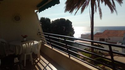 Photo for Superb apartment in the first line, facing Playa Cristal