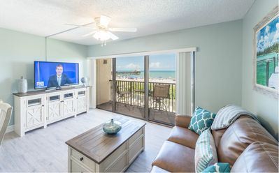 Photo for Beautiful  Direct Oceanfront Views - Next to Pier - Fully Renovated