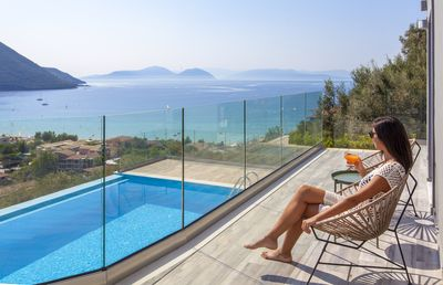 Photo for Special Offers: Brand New Villa with panoramic sea views  in Vasiliki, Lefkada