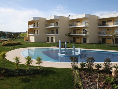 Photo for AT73 Beautiful one bedroom apartment situated on the Jardins da Marina