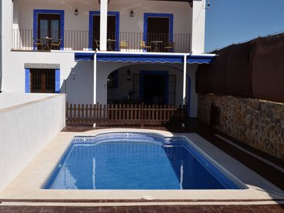 Photo for Country house with private pool, starry nights in a Starlight Reserve