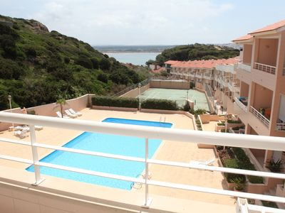 Photo for Luxurious 2 bedroom apartment with parking, swimming pools, terraces and gym