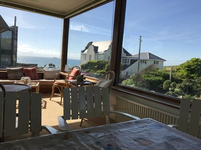 Photo for Family Beach House for 8-10 people near Baby Bay in New Polzeath, North Cornwall
